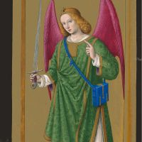 The archangel Raphael, f. 165v