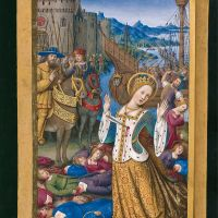 Saint Ursula and the eleven thousand virgins, f. 199v