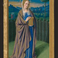 f. 201v, Santa María Magdalena
