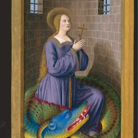 Saint Margaret, f. 205v <div></div>