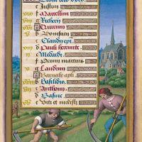 The Calendar: June, f. 9 <div></div>