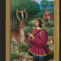 The vision of Saint Hubert, f. 191v