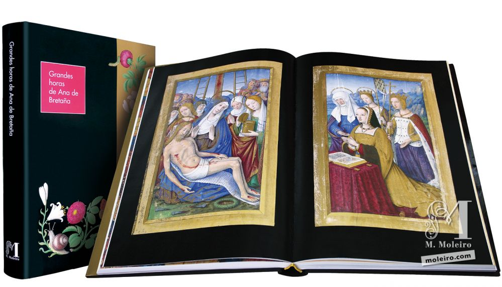 Great Hours of Anne of Brittany Lamentation over the body of Christ observed by Anne of Brittany at prayer