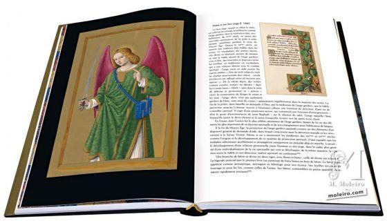 Las Grandes Horas de Ana de Bretaña El arcángel san Rafael
