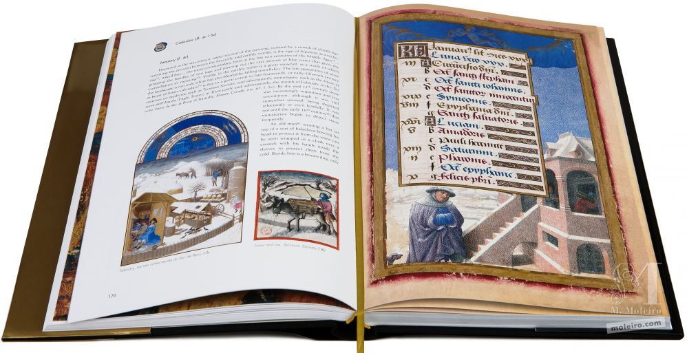 Great Hours of Anne of Brittany January in the Great Hours of Anne of Brittany