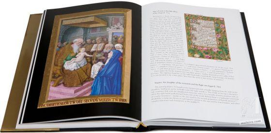 Las Grandes Horas de Ana de Bretaña Presentación de Jesús en el Templo