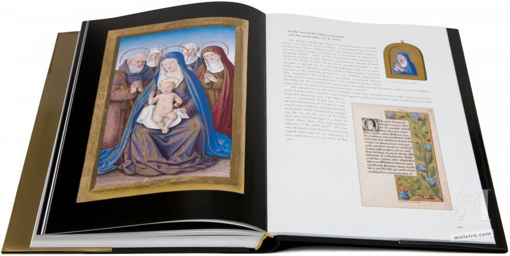 Great Hours of Anne of Brittany The Virgin and Child