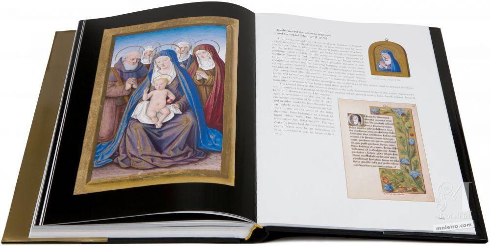 Las Grandes Horas de Ana de Bretaña La Virgen con el Niño