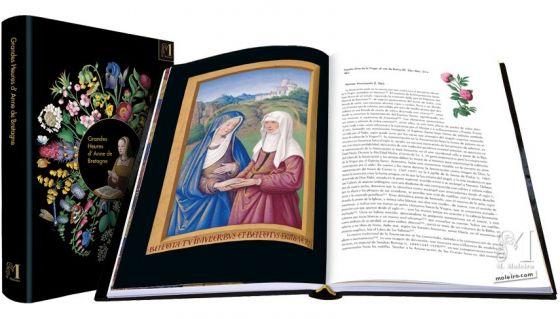 Las Grandes Horas de Ana de Bretaña Laudes: Visitación (f.36v)