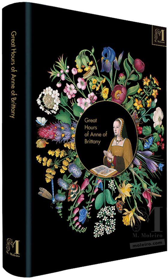 Les Grandes Heures d'Anne de Bretagne Couverture du livre d'art