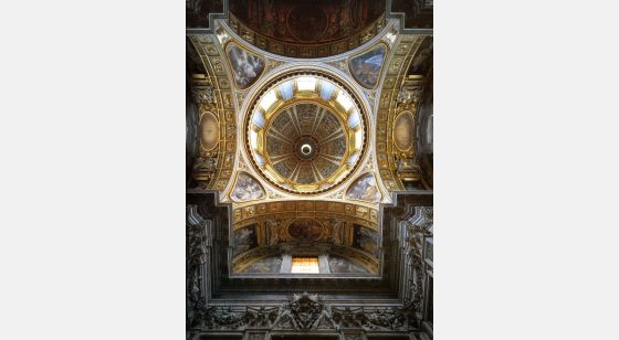 Iglesias de Roma Santa Maria Maggiore, Sistine chapel and its dome, 5th C.
