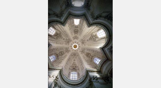 Iglesias de Roma St Ivo alla Sapienza, dome, 17th C.