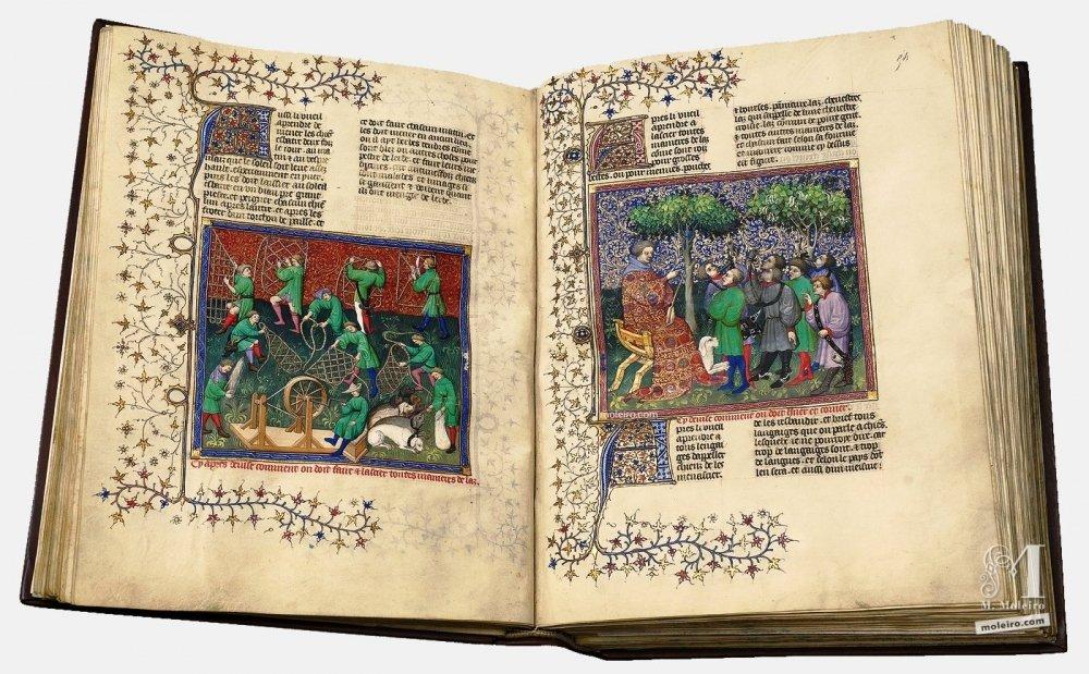Livre de la Chasse, by Gaston Fébus (Français 616, Paris, early 15th c.) Bibliothèque nationale de France, Paris BnF