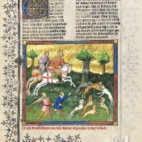 Cy apres devise comment on doit chascier et prendre le chat a force - F. 101r