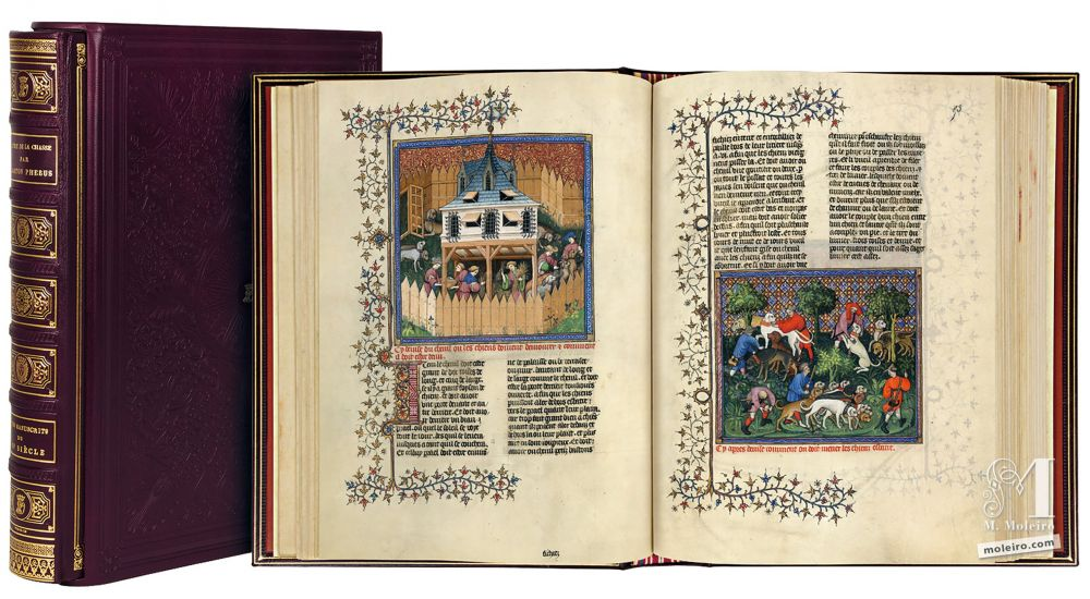Libro della caccia, Gaston Fébus