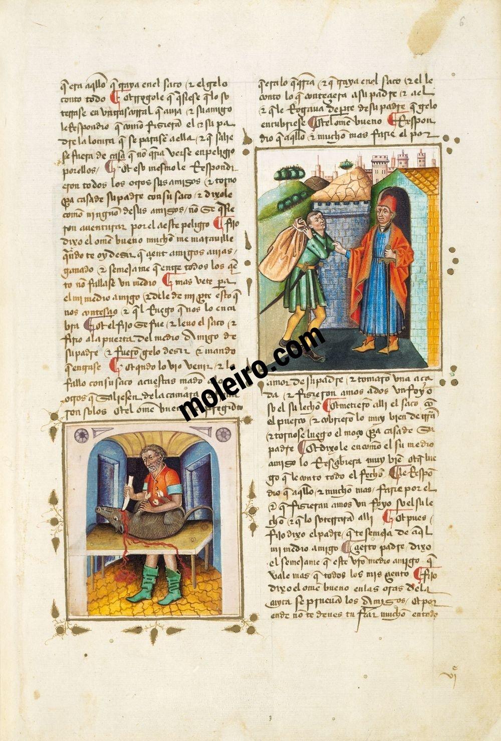 Libro del Caballero Zifar f. 6r