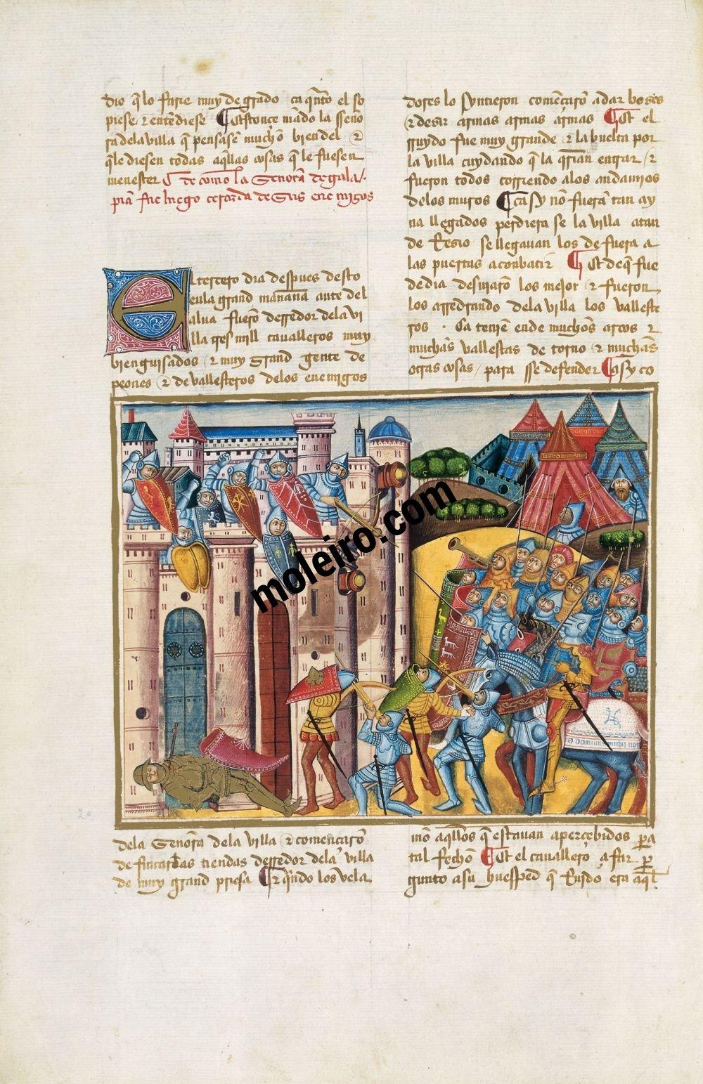 Libro del Cavaliere Zifar f. 17v