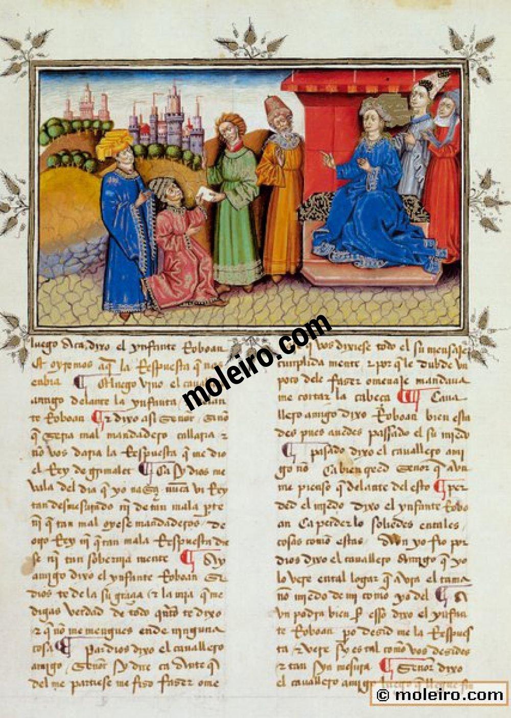 Libro del Caballero Zifar f. 148v