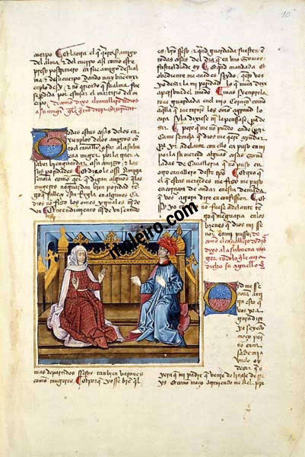 Libro del Caballero Zifar f. 10r
