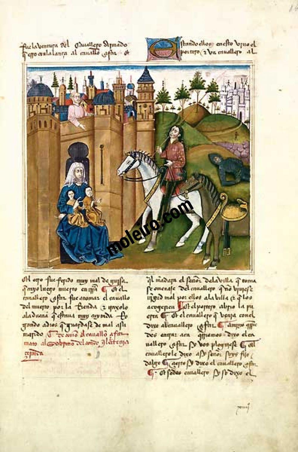 Romance of the Knight Zifar f. 14r