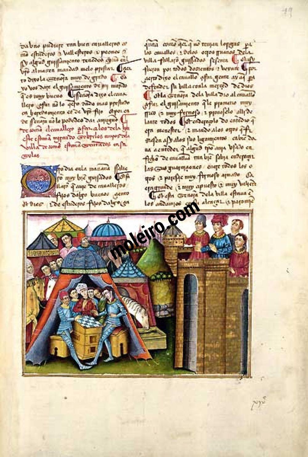 Libro del Cavaliere Zifar f. 19r