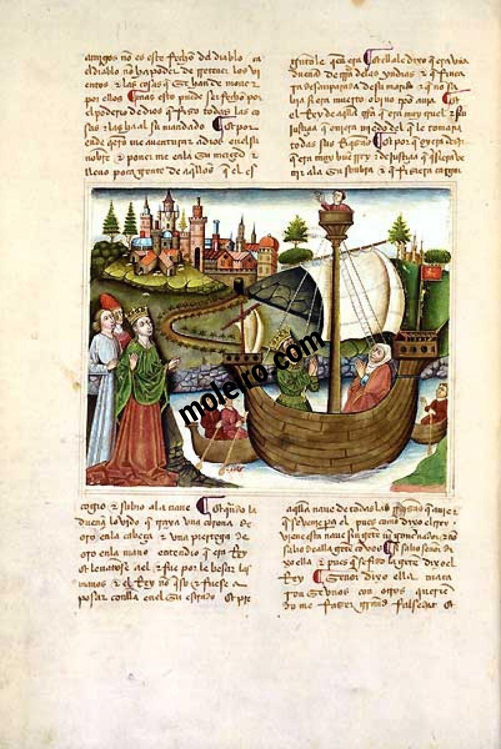 Libro del Cavaliere Zifar f. 38v