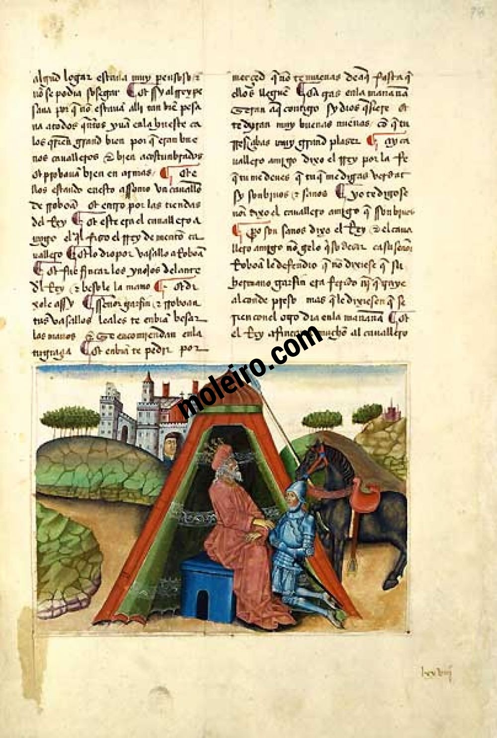 Romance of the Knight Zifar f.78r