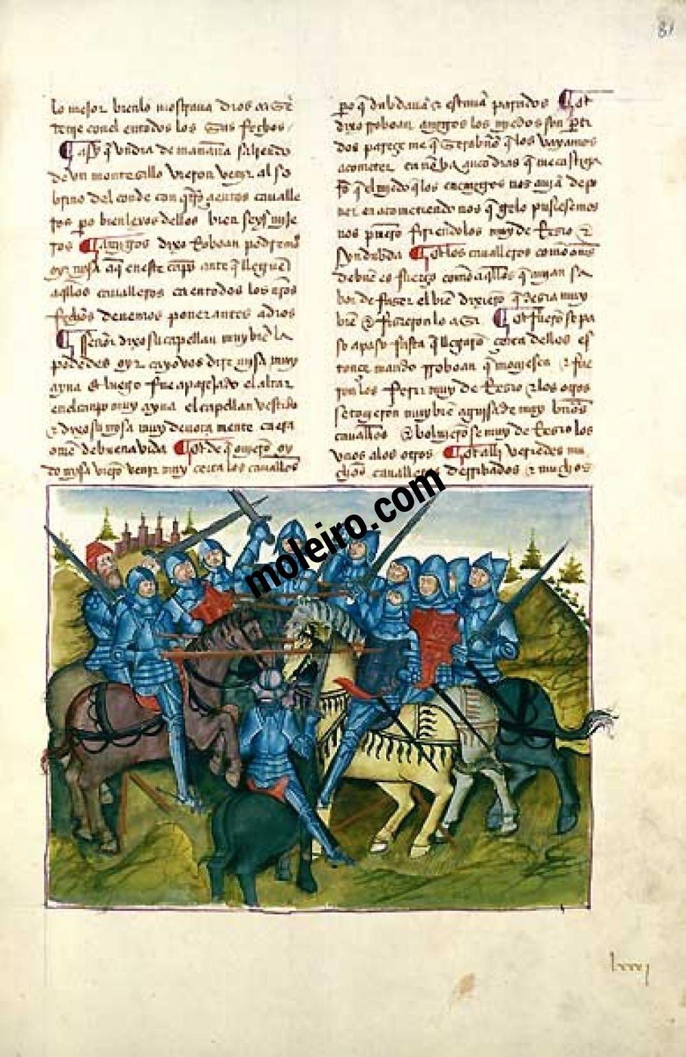 Libro del Caballero Zifar f. 81r