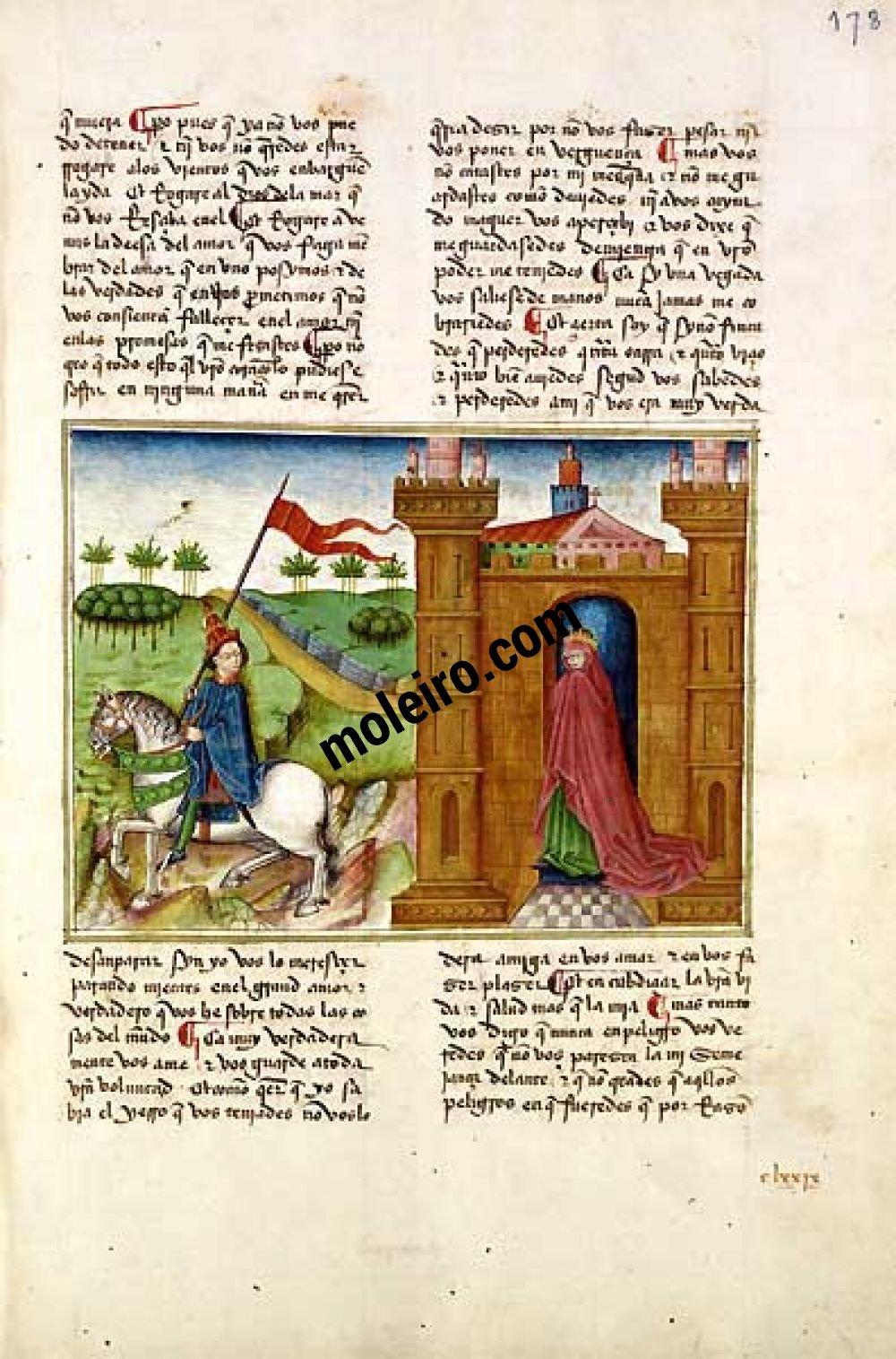Romance of the Knight Zifar f. 178r