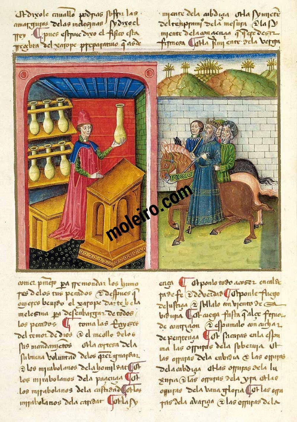 Libro del Caballero Zifar Los tocados de los hombres