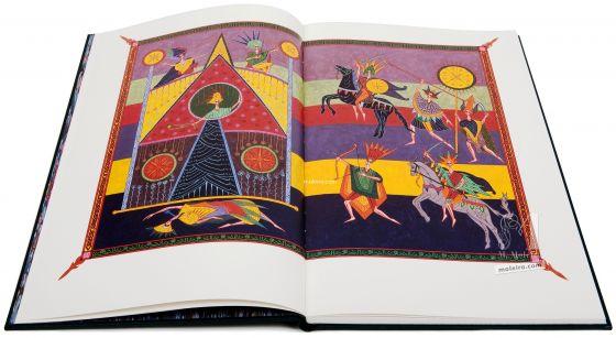 Libro de Daniel.Códice Alcaíns. Imagen Libro de Daniel