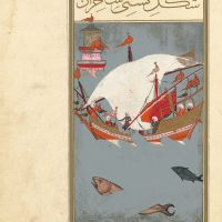 f. 81r, The Sorcerer's Ship