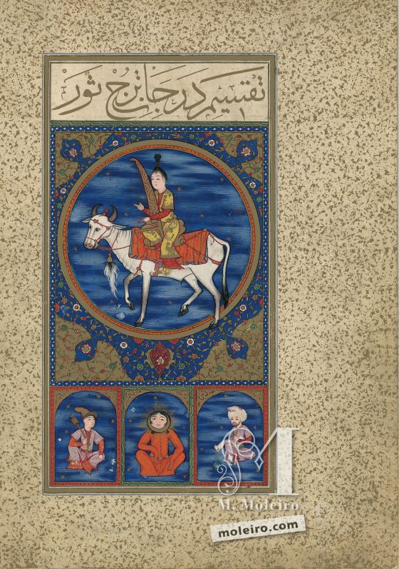 The Book of Felicity f. 10v, The Image of Taurus