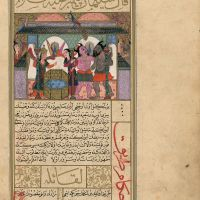 f. 131v, The Divination of the Prophet Sulayman (Solomon)