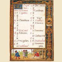 f. 27r, Calendario, septiembre