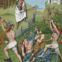 Muerte del centauro (f. 41v)