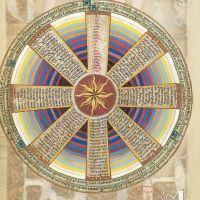 Круглый календарь (f. 52v)