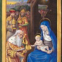 Adoration des mages (f. 22v)