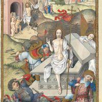 La Résurrection du Christ (f. 110v)