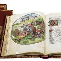 <p>Saint Georges terrassant le dragon (f.53v)</p>