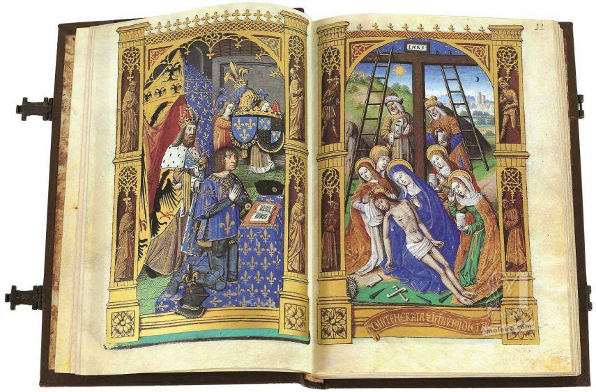 Libro de Horas de Carlos VIII Biblioteca Nacional, Madrid Biblioteca Nacional, Madrid