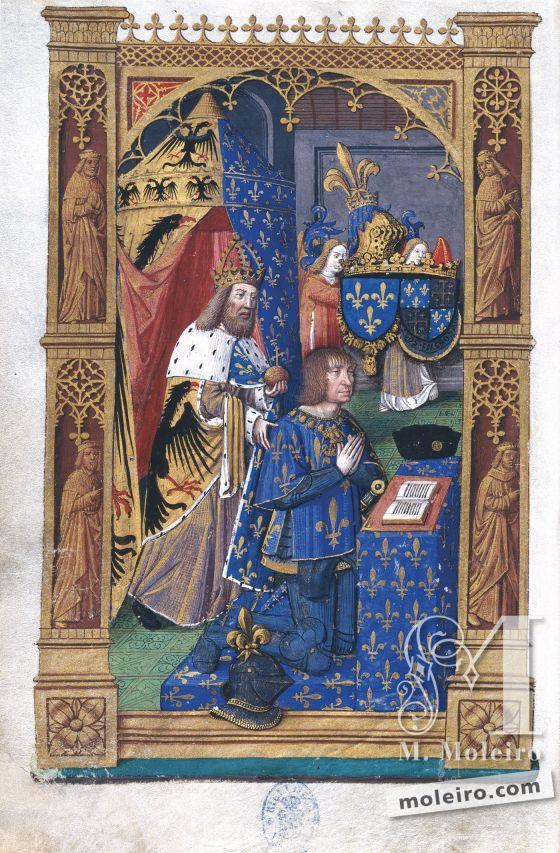 Libro de Horas de Carlos VIII f. 13v
