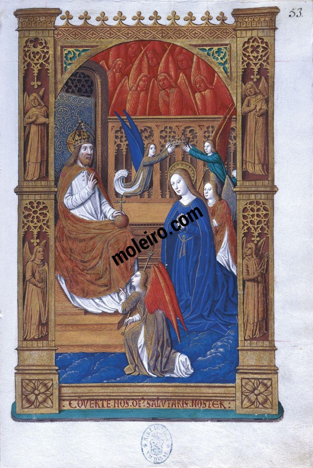 Livre d'Heures de Charles VIII f. 53r