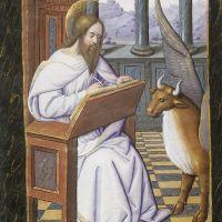 Der Evangelist Lukas, f. 9r