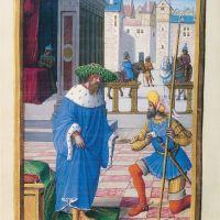 David and Uriah, f. 108v
