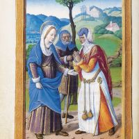 Visitation, f. 40v