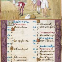 July. Reaping, f. 4r