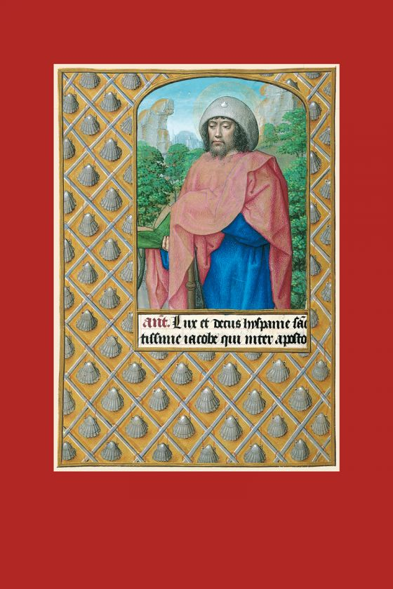 Lâmina de Santiago Apóstolo do Livro de Horas de Joana I de Castela (Joana a Louca)