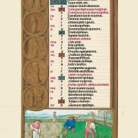 f. 4v, Calendario, Julio