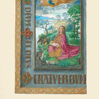f. 10v, St. John on Pathmos